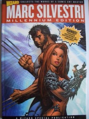 Wizard Marc Silvestri Millenium Edition Hardcover Book